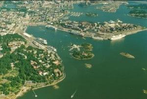 Helsinki harbour air photo web