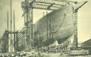 NA 1906 under construction at Harland and Wolff web