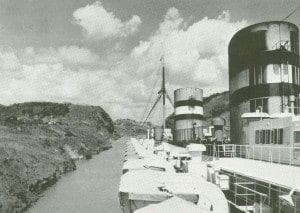 Nieuw Amsterdam 1938 First Panama Canal Cruise