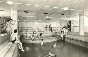 Nieuw Amsterdam First class swimming pool