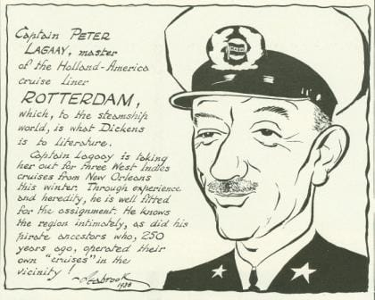 Capt Lagaay Pieter Sr 1939 cartoon web