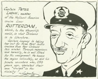 Capt Lagaay Pieter Sr 1939 cartoon web