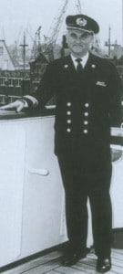 Capt. Jong De Auke  Commodore on the day of his retirement 22 april 1968 small