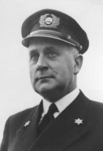 Captain Leendert van der Graaf