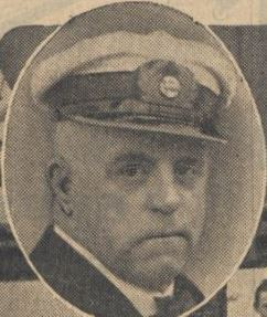 Capt. Watze Krol as taken from a 1927 newspaper