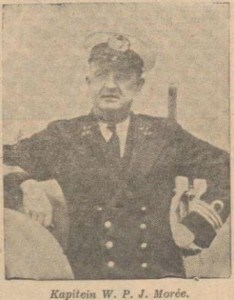 Captain Moree from a photo in a dutch newspaper, still in Chief Officer Uniform