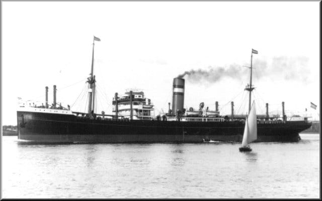 ss Burgerdijk. One of the 10 B class ships built between 1920 and 1923.