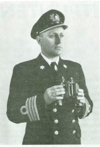 Captain A van Dijk