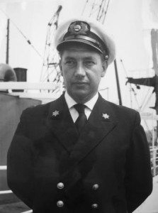 Captain L.J van der Graaf was a captain in the 1950's.