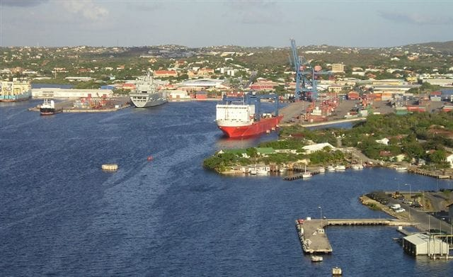 Part of the inner harbor of Willemstad. (Photo courtesy: Maduro Agents Curacao)