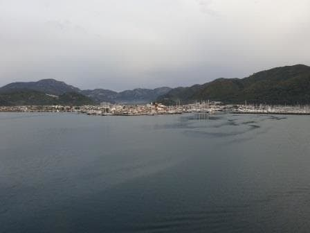 Marmaris from the ship.