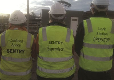 Titles vary in the world the purpose of supervising personnel remains the same. This is Australia.